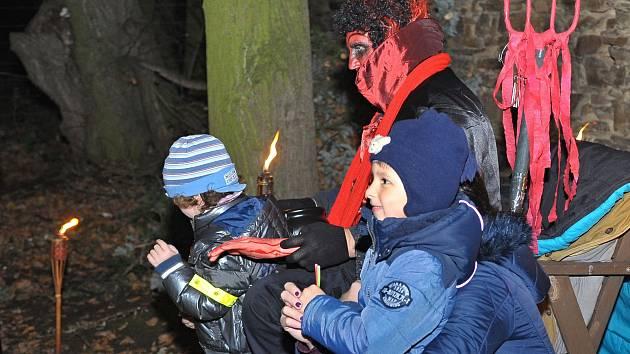 V ratbořském parku se stála fronta na peklo.