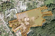 Vyznačený prostor město nabízí investorům