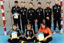 Mladší žáci Kolína ovládli turnaj v Mělníku.
