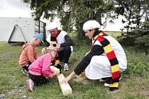 Pohádkový les zpříjemnil odpoledne dětem v Kořenicích.