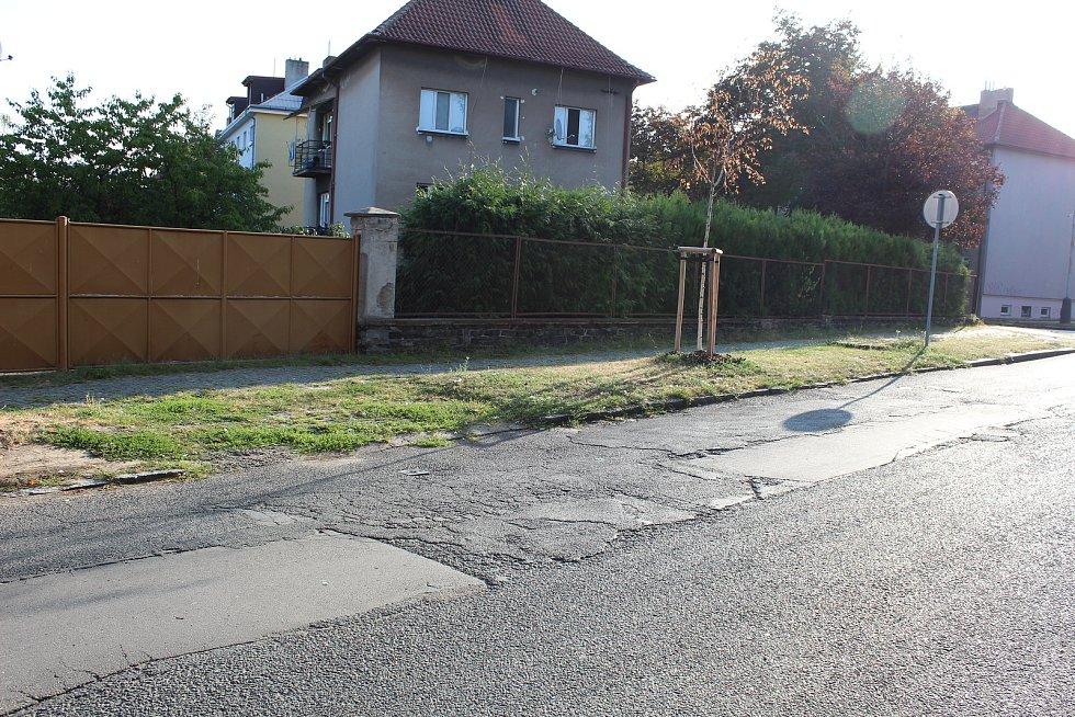 Ulice Míru v Kolíně