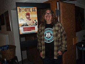 Zdeněk Jurásek v kině představil svoji cyklo cestu po Route 66