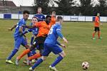 Divizní fotbalové utkání, skupina B: FK Seko Louny - SK Český Brod 0:1 (0:1).
