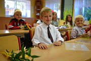 Děti z radimské školy se loučily se školním rokem.