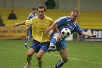 Z utkání FK Kolín - AFK Chrudim (1:1).