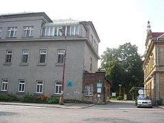 Nemocnice v Českém Brodě.