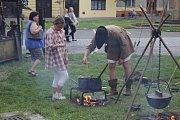 Oslavy královského Brodu vyvrcholily ohňostrojem.