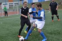 Z utkání Borky ligy Chlaston Villa  - PV za 20 (0:4).