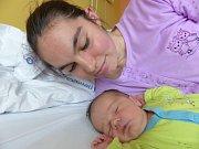 Lukáš Pleskač se narodil 18. května 2019, vážil 3490 g a měřil 49 cm. V Kolíně bude vyrůstat s maminkou Adélou a tatínkem Davidem.
