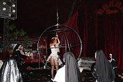 Hororový cirkus Ohana bavil kolínské milovníky strachu a hororových prvků.