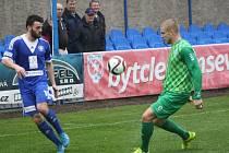 Z utkání FK Kolín - Loko Vltavín (0:4).