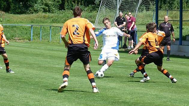 Z přípravného utkání FK Kolín - Slovan Liberec B (0:1).