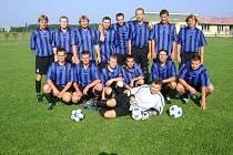 Z fotbalového turnaje na Volárně.