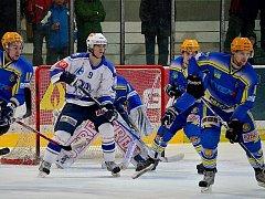 Z utkání II. NHL. Kolín - Břeclav (5:3).