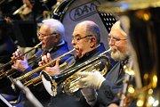 Městská hudba Františka Kmocha zahrála netradičně v pátek
