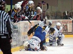 15. kolo II. ligy: Kutná Hora - Kolín, 14. listopadu 2010.