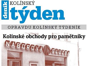 Titulní strana dvacátého devátého čísla týdeníku Kolínský týden.