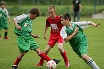 Z utkání starších přípravek FK Kolín - AFK Kolín (2:0).