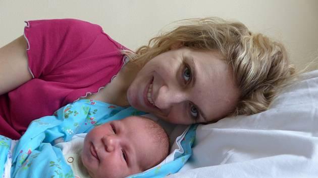 Libor Novák se narodil 2. února 2020 v kolínské porodnici, vážil 4060 g a měřil 53 cm. V Poděbradech ho přivítali bráškové Kryštof (9), Adámek (2.5) a rodiče Anežka a Libor.
