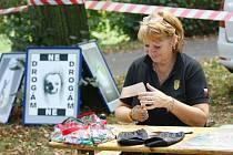 Českobrodské děti zažily branný den v parku