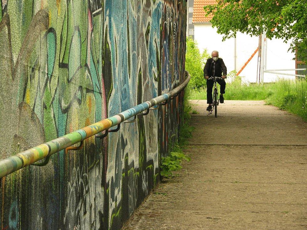 Podchod pod Jaselskou ulicí v Kolíně.