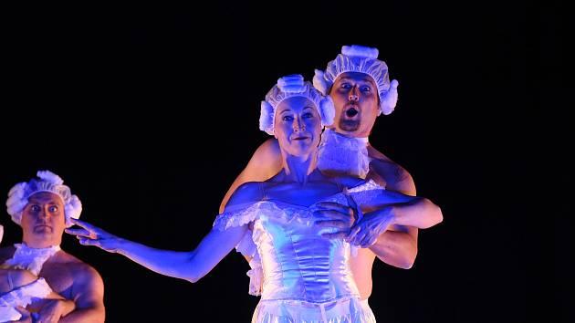 Přehlídka pantomimy a pohybového divadla se v Městském divadle Kolín konala už dvacátým čtvrtým rokem.