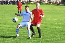 Z fotbalového utkání I.A třídy Polepy - Kutná Hora (2:0)