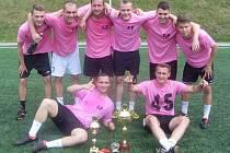 První místo obsadil tým FC Pásci.