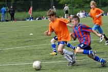 Kolínské sportovní dny - fotbal.