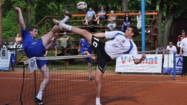 Z utkání Český Brod - Žatec (6:3).