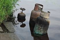Loděnice ve Starém Kolíně shořela.