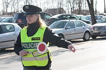Policejní silniční kontrola