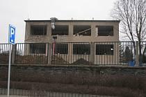Z rekonstrukce pavilonu bývalé patologie v areálu Oblastní nemocnice v Kolíně.