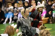 Děti z mateřské školy Pohádka předvedly taneční choreografie