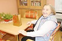 Ježíšek již seniorům v Domově důchodců naděloval.