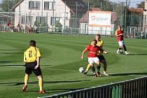 Z utkání Velim - Trutnov (2:0).