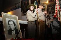 Pietní akt k uctění Václava Havla v Kolíně