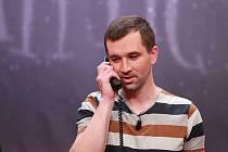 Ondřej Sokol z Partičky při hře nečekaný telefonát
