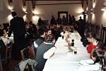 Hasiči se sešli na výroční schůzi