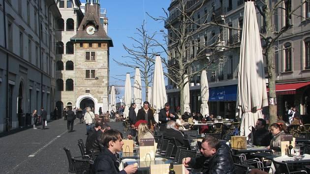 V ulicích Ženevy