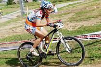 Cyklistka Daniela Březinová