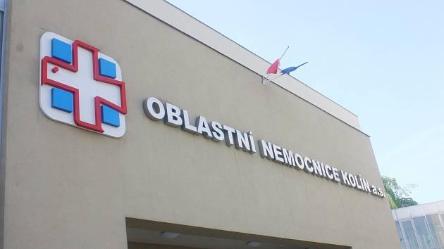 Kolínská nemocnice. Ilustrační foto.