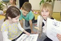 Děti z novoveské základní školy Prosperity si Noc s Andersenem užily v muzeu Čtyřlístku.
