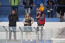 Konečně. Fanoušci si nenechali ujít první zápas kolínských hokejistů