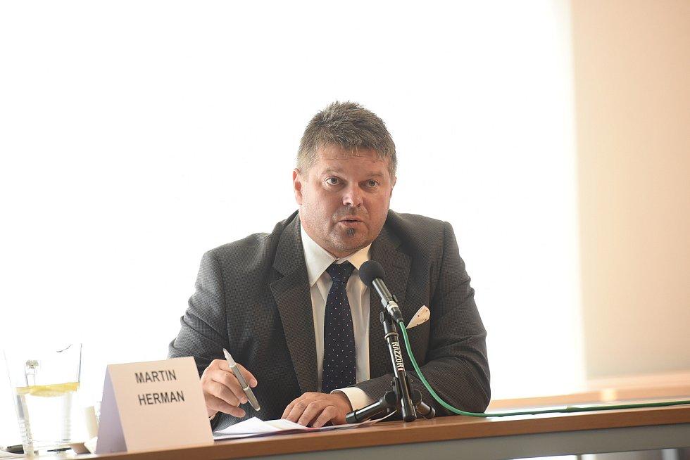Kandidát do zastupitelstva Středočeského kraje Martin Herman