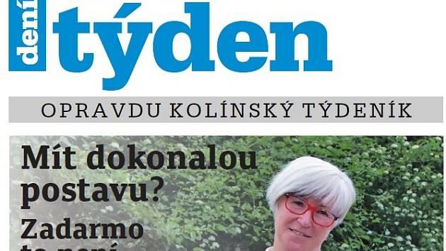 Titulní strana dvacátého sedmého čísla týdeníku Kolínský týden.