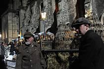 Filmaři doslova čarovali v ulicích Kolína