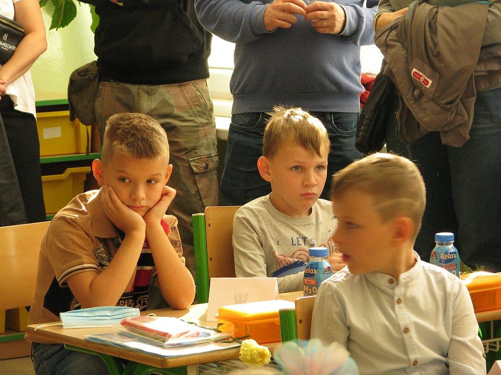 První školní den na 7. ZŠ Kolín