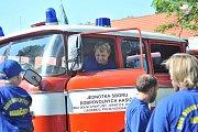 Zásmučtí slavili výročí hasičů, nechyběly ukázky techniky.