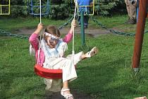 Děti si užily hezký den i přes nepřízeň počasí.